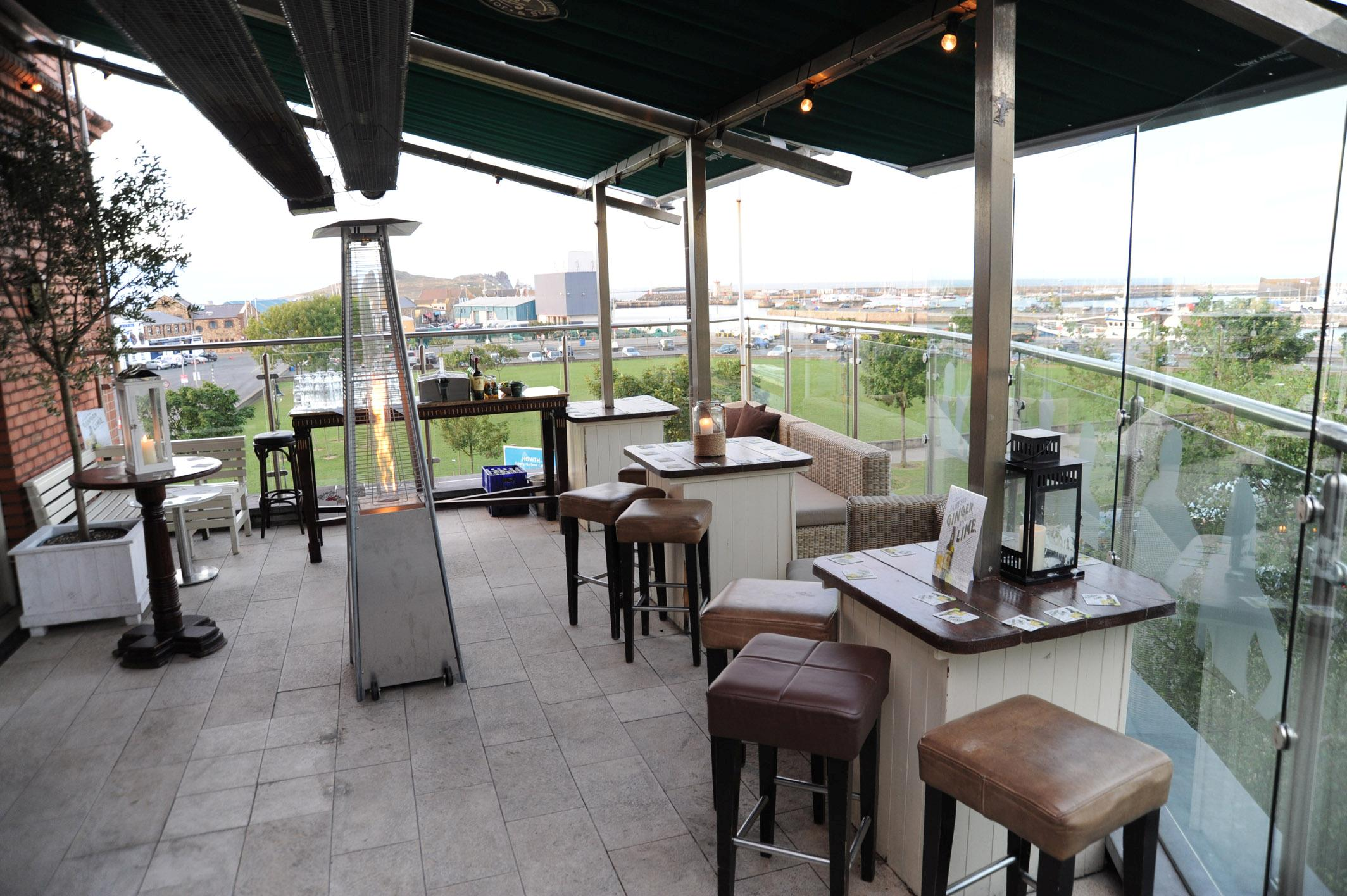 Wrights findlater howth caf bar restaurant sky bar for Terrace bar menu