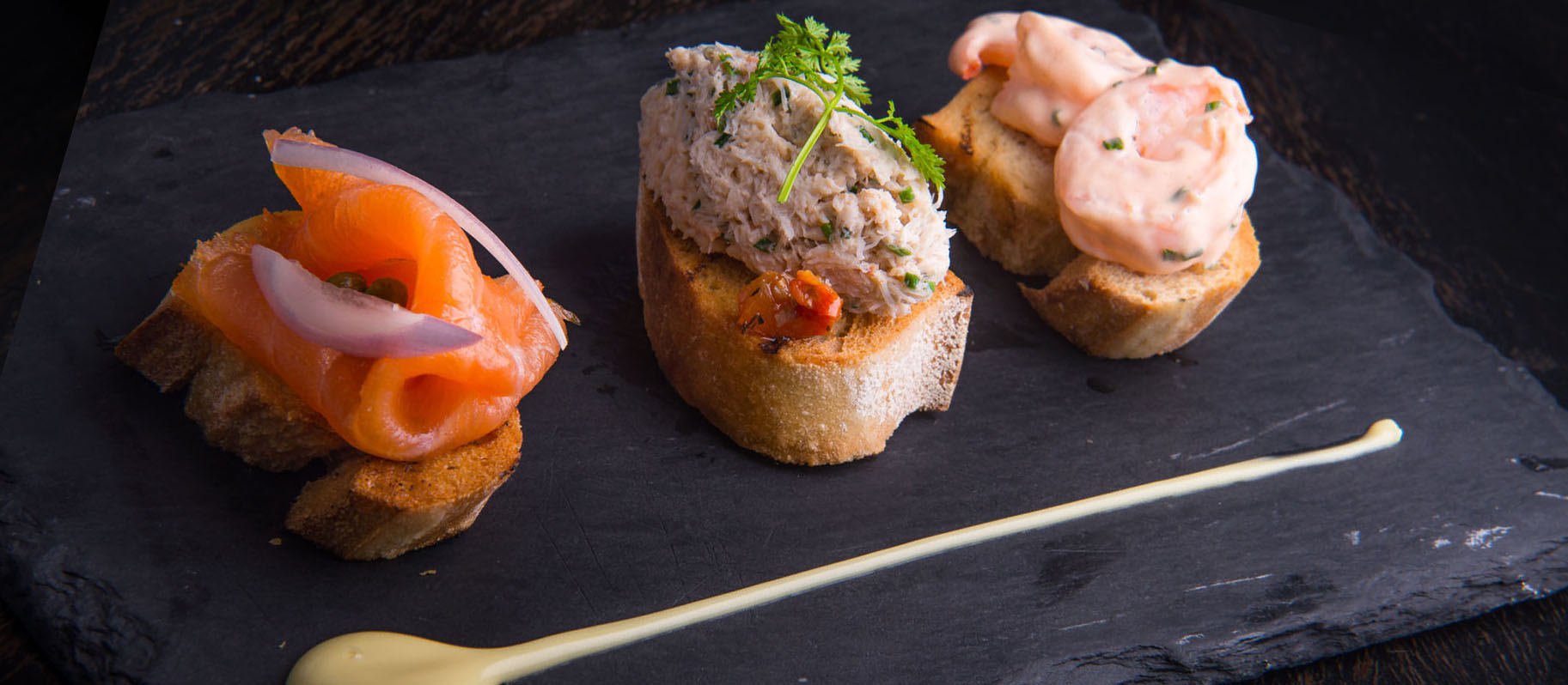 Wrights findlater howth caf bar restaurant christmas for Christmas fish starters